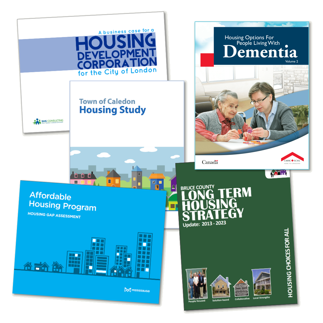 Image of housing report covers
